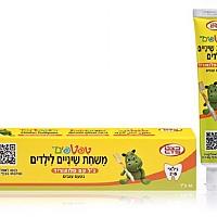 משחת שיניים לתינוקות ולילדים בגילאי 2-6