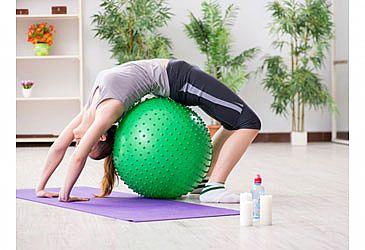 כדור הפיזיו להקלה על כאבי גב ועוד