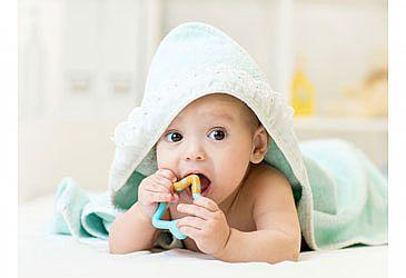 בקיעת שיניים אצל תינוקות